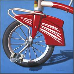 Retro Bicycle - Nance Danforth Paintings