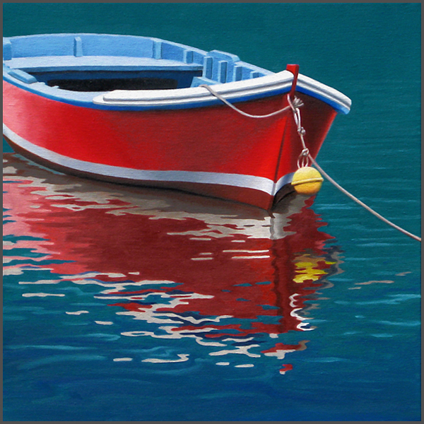 Red Boat - Nance Danforth Paintings