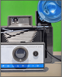 Polaroid Land Camera - Nance Danforth Paintings