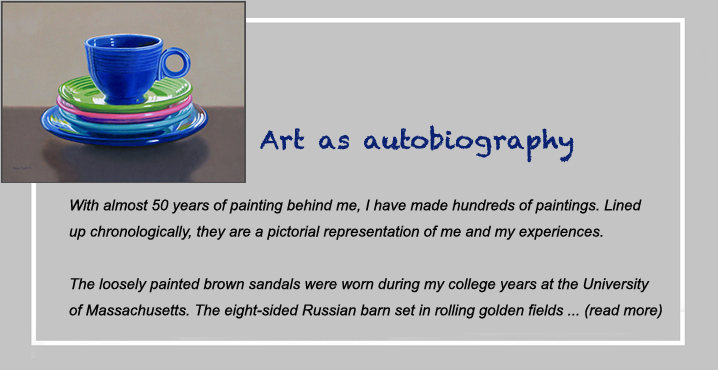 art as autobiography