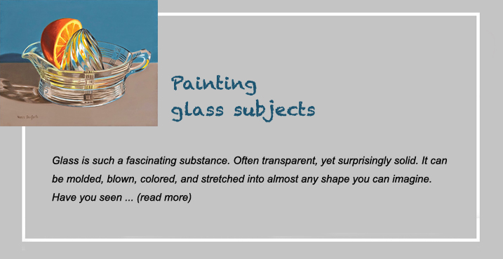 painting glass subjects