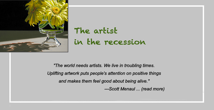 the artist in the recession