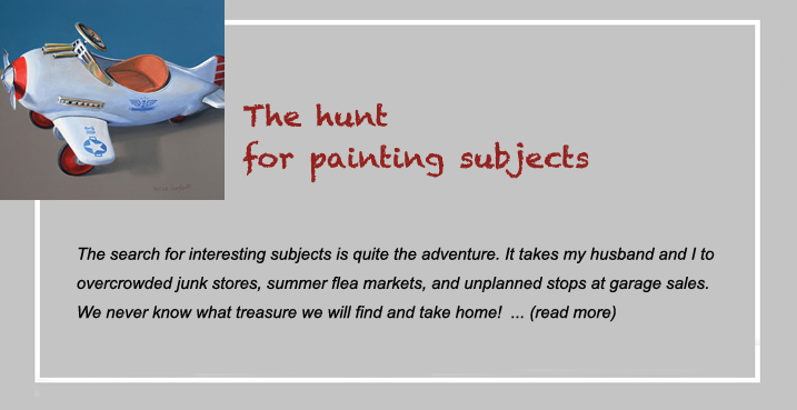 the hunt for painting subjects
